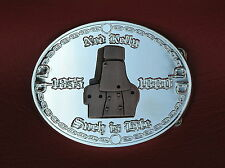 NED KELLY SILVER BELT BUCKLE ~ BRAND NEW ~ LIMITED EDITION ~ Country & Western
