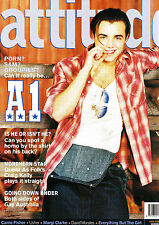 Vintage Gay Interest Magazine Attitude January 2001 Featuring A1
