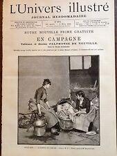L'UNIVERS ILLUSTRE 1889 N 1771 BEAUX ARTS: LE SOMMEIL DE L'ENFANT de E .PINCHART