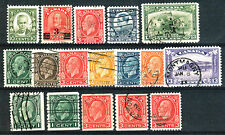 CANADA - 1930-32 YT 156-163B COMPLETE SETS USED USATI
