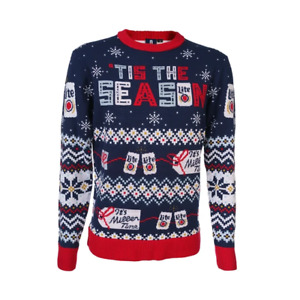 Miller Lite Knit Ugly Christmas Sweater 2020 Holiday Xmas Mens Womens X-Large