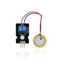 KEYESTUDIO Piezoelectric Ceramic Vibration Sensor Module for Arduino Project