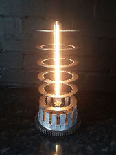 MOTORCYCLE CLUTCH LAMP WITH VINTAGE EDISON FILEMANT BULB