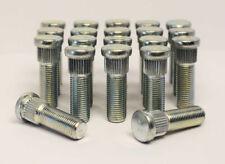 20 x M12 x 1.5 Replacement Wheel Studs, 14.3mm Spline, 30mm Thread