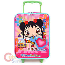 Ni Hao Kai Lan Rolling Luggage SuiteCase Trolley Travel Bag