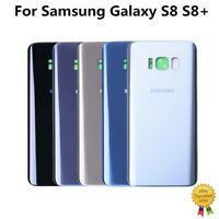 For Samsung Galaxy S8 S8 Plus Rear Battery Glass Hard Cover Housing Back Door