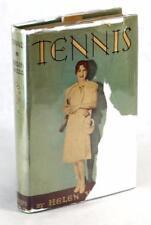 First Edition 1928 Tennis Helen Wills Anecdotal Instructional and Memoir HC w/DJ