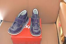 chaussure  neuve kickers 29  bleu brillante bottine magnifique