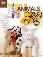 Big Book of Animals Crochet Patterns Tiger Unicorn Lamb Pig Dog Annies Attic NEW