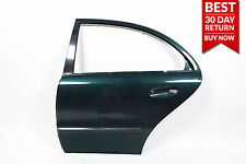 03-09 Mercedes W211 E550 Exterior Door Shell Rear Left Driver Side GREEN