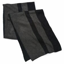 Apt. 9 Adulto Unisex Bloque Color Bufanda Gris Carbón Negro Talla Única