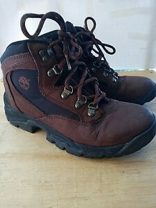 Timberland ACT 96304 Hiking Walking Trail Boots Brown Leather Men's Size 7
