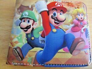 Super Mario Bi-Fold Wallet #MB2 (New)