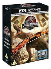 Jurassic Park: Trilogy Collection (4K Ultra HD + Blu-ray + Digital Download) [