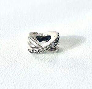 Designer PANDORA - Solid Sterling Silver Sparkling Fancy Bead Charm