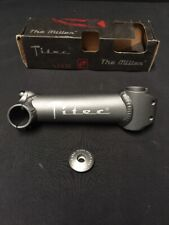 "Nos Vintage Titec 1"" Inch Alloy Threadless Stem 135mm 0 Deg Road Bike Fixed Gear"