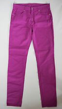 "NWD Authentic GIANFRANCO FERRE GF FERRE Fuchsia Cotton Jeans 32"" x 34"""