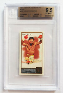 Manny Pacquiao 2011 Topps Allen and Ginter RC ROOKIE CARD Mini PARALLEL BGS 9.5