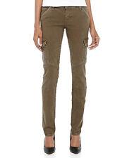 Current/Elliott The SKINNY CARGO Womens COMBAT GREEN  Cargo Skinny Jeans 25 new