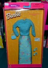 2000-BARBIE FASHION AVENUE-METRO STYLES: BRUNCH IN BOSTON-SWEATER,FLORAL SKIRT++