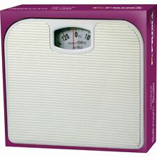 Mechanical Dial Bathroom Scales Weighing Scale Body Weight White 130kg
