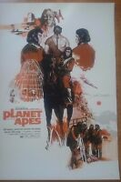Mondo Poster Print Planet of the Apes by Marc Aspinall Limite Edition