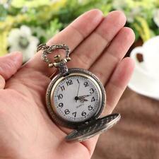 Alice im Wunderland Taschenuhr Halskette Uhr Grinsekatze Sammler Kette Dekor