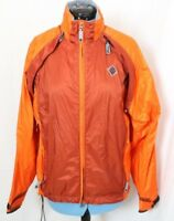 Adidas Orange Convertible Removable Sleeves Zip Packable Jacket Vest Men's M