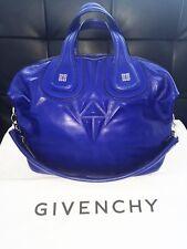 Givenchy Cobalt Blue 'Nightingale' Leather Handbag