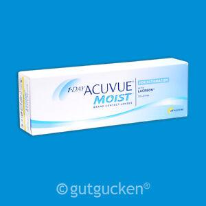 1-Day Acuvue Moist for Astigmatism 1 x 30 torische Kontaktlinsen Tageslinsen