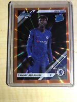 2019-20 Chronicles Soccer Donruss Press Proof Orange Laser 57 Tammy Abraham