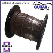 Analysis Plus BULK Chocolate Oval 12/2 Speaker Cable - Length 300ft