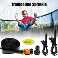 Trampoline Sprinkler Waterpark for Kids 39FT Summer Outdoor Water Game Toys K9X1