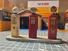 **Very Rare!** Vintage Britains Fuel Pumps X3- 1940s, Original Condition.