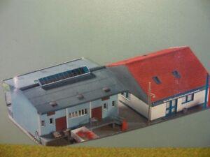 1/87 Kibri Baustoffhandlung und Baumaschinenverleih Gebäude 9903
