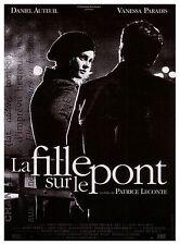 Affiche 120x160cm LA FILLE SUR LE PONT (1999) Vanessa Paradis, Daniel Auteuil TB