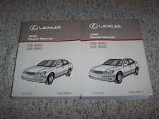 1998 Lexus GS300 GS400 Shop Service Repair Manual 3.0L 4.0L V8