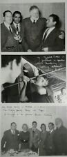 3 Ernest Hemingway Inscribed Photos Signed By Cano Stamp On Back. 9.5x 7x