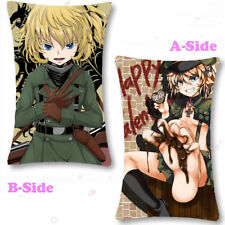 Anime Saga of Tanya the Evil Ace Dakimakura Bedding Cushion Pillow Case #0000016