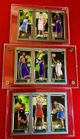 2003-2004 Topps #111 LeBron James RC Rookie Carmelo & Dwyane Wade🔥PSA Ready Lot
