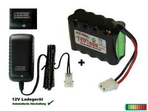 RC Akkupack 12V1000 mAh mit Ladegerät, mehrere Optionen...