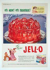 JELL-O Jelly - Vintage Magazine Advert (19 December 1953) Food, Dessert*