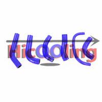 Blue Silicone radiator hose for HONDA XR650 XR650R 2000-2009
