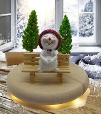 Winterkinder Weihnachtskinder Weihnachsdeko Winterdeko Weihnachten Advent LEDs