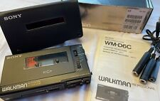 Sony WM-D6C Walkman Professionell Kassettenrecorder Stereo (Neu Zustand)