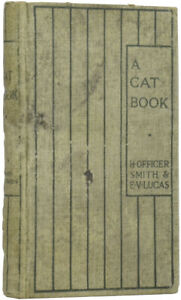 E V LUCAS, H Officer SMITH / A Cat Book The Dumpy Books for Children No 6 1st ed