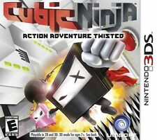 Cubic Ninja - Nintendo 3DS Game
