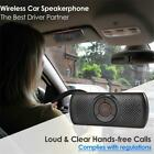 Handsfree Wireless Bluetooth Car Speaker Voice Guidance Receiver for Cell Phone