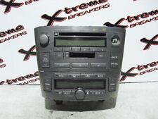 TOYOTA AVENSIS 2003-2006 CD RADIO STEREO HEAD UNIT 86120-05081 - XBCD0018