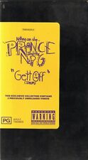 """PRINCE - """"GETT OFF"""" -  VHS - PAL - NEW - Never played! - Original Oz release"""